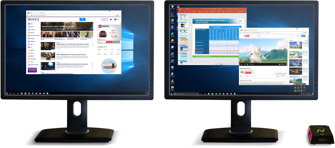 RX300 has dual monitor capability